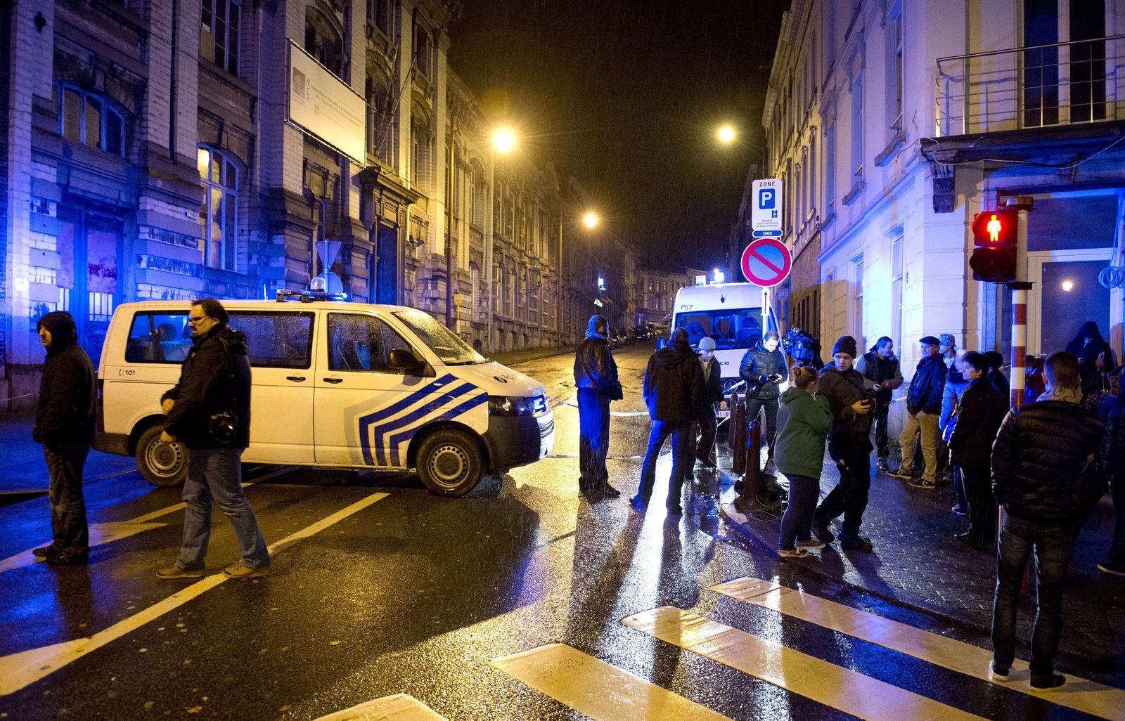 Verviers Belgien anti-terror polizei
