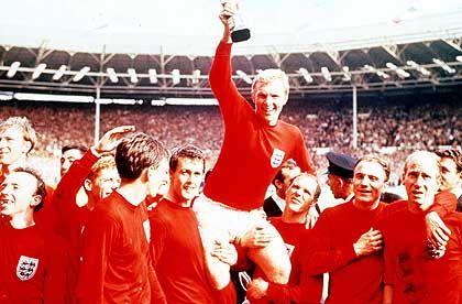Unvergessener Erfolg bei der Weltmeisterschaft 1966: England schlägt Deutschland nach Verlängerung mit 4:2