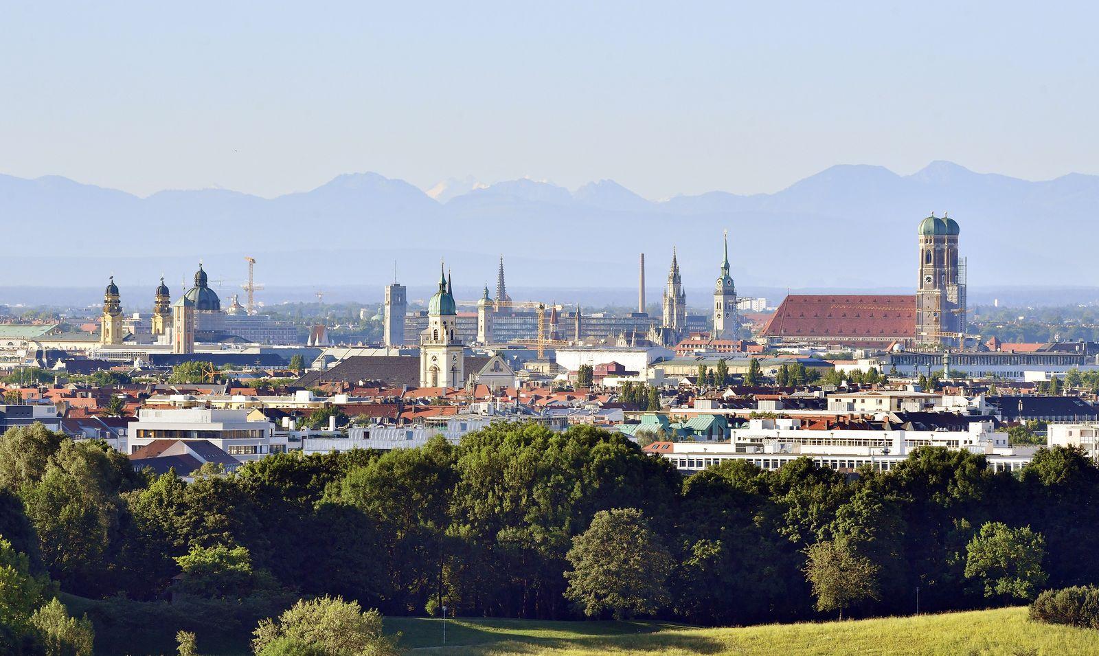 München/ Skyline / Stadtansicht