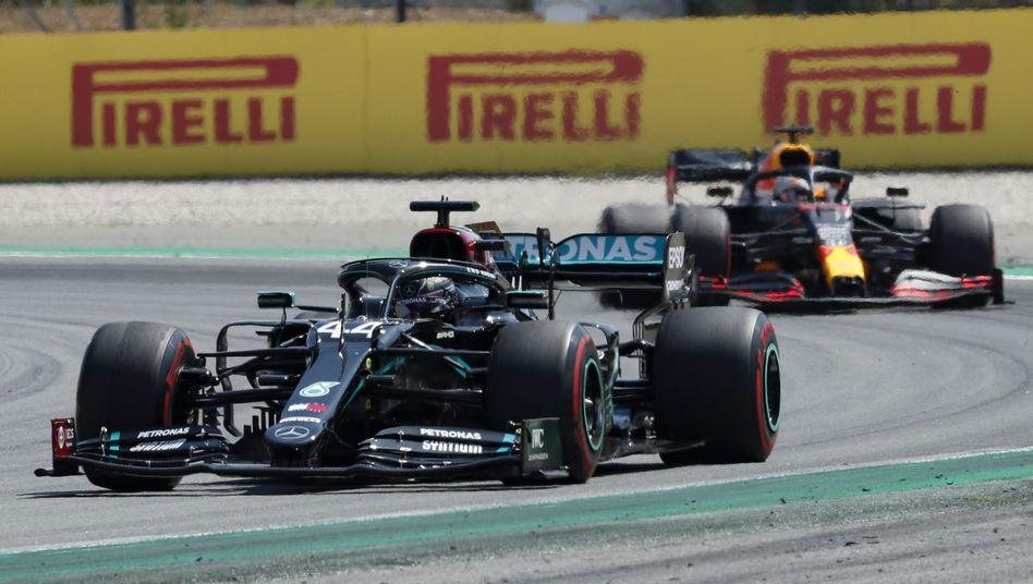 Lewis Hamilton fuhr der Konkurrenz einmal mehr davon