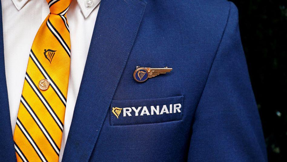 Ryanair-Flugbegleiter