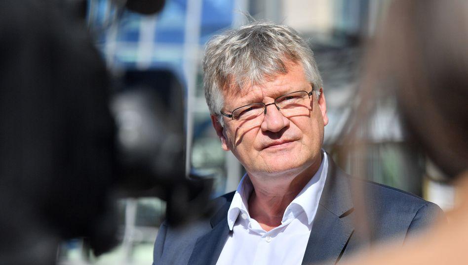 AfD-Chef Jörg Meuthen: deutliche Worte für parteiinterne Kritiker
