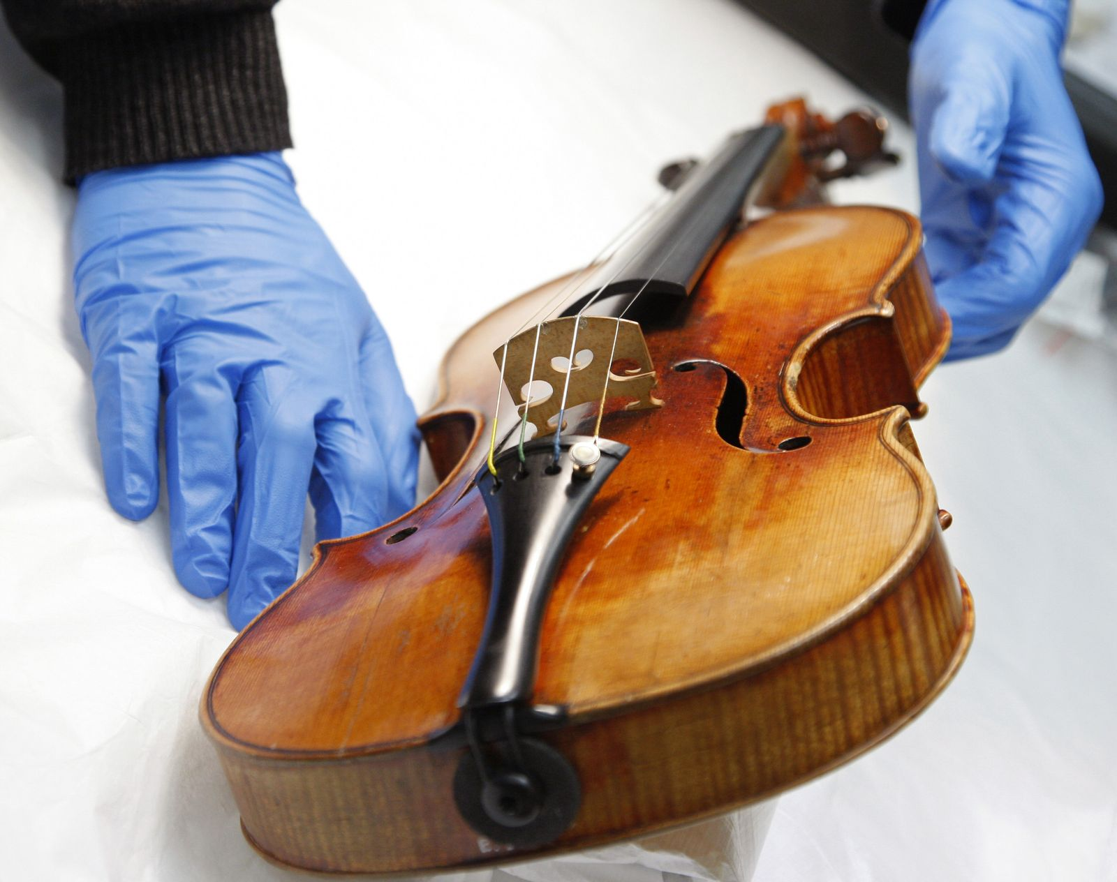 Stradivari / Violine / Lack