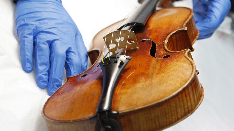 Stradivari im Museum (Archivbild): Das Geheimnis ihres Klangs ergründen