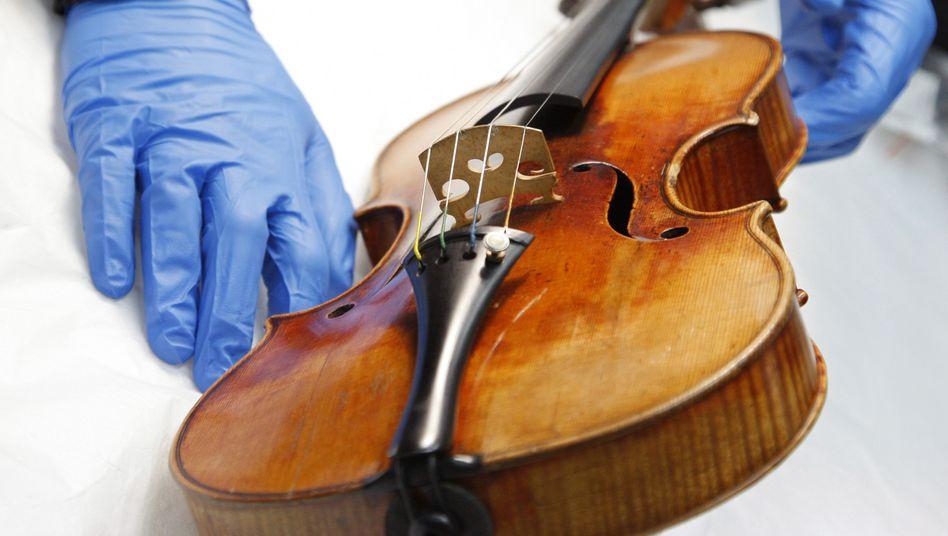 Stradivari im Museum (Archivbild): Viele wollten das Geheimnis ihres Klangs ergründen