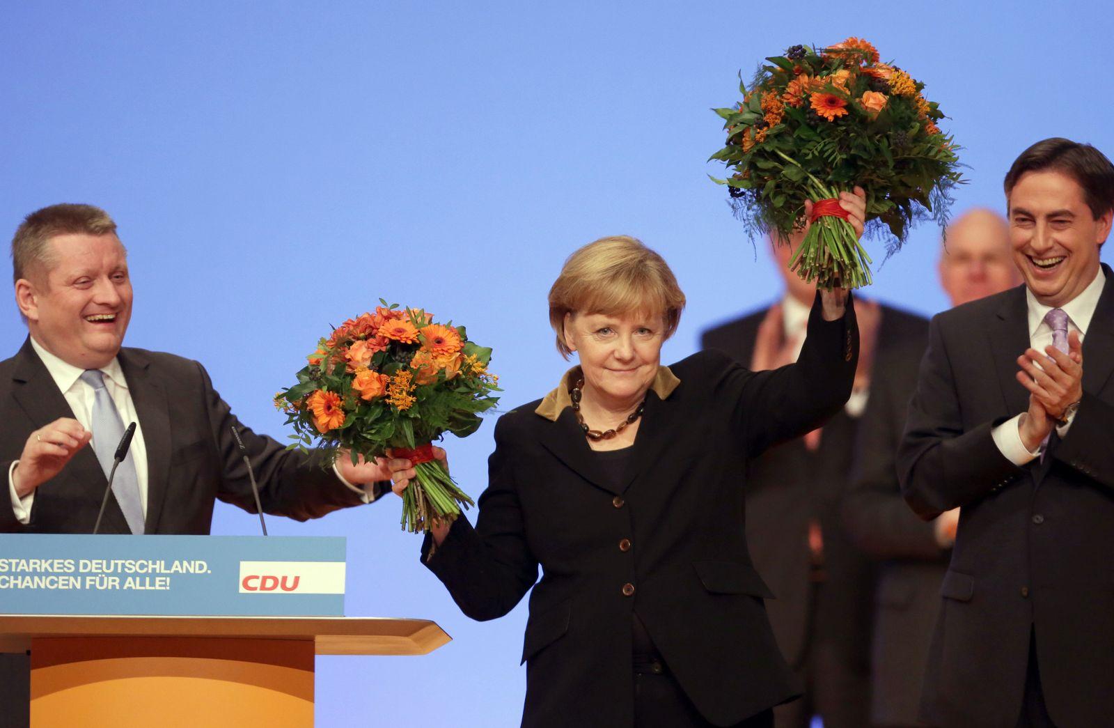 CDU Bundesparteitag/ Merkel