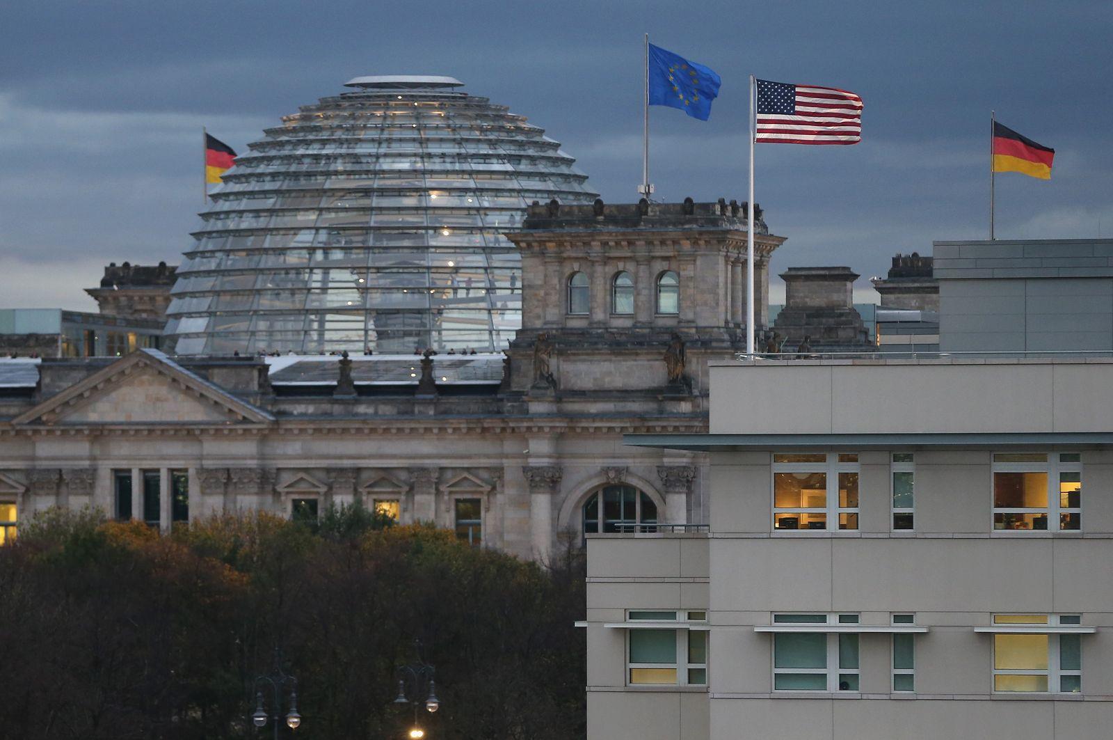 US-Botschaft Berlin / Reichstag