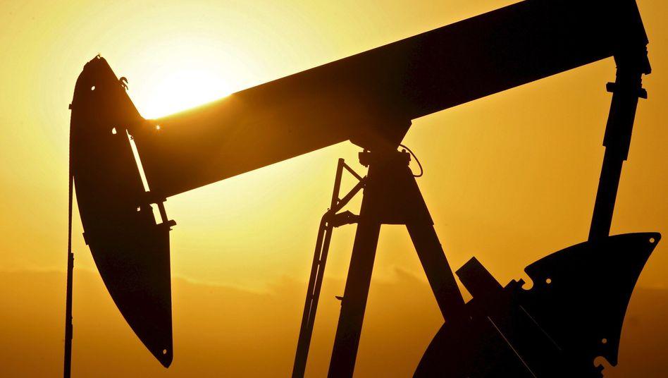 Ölpumpen in Oklahoma