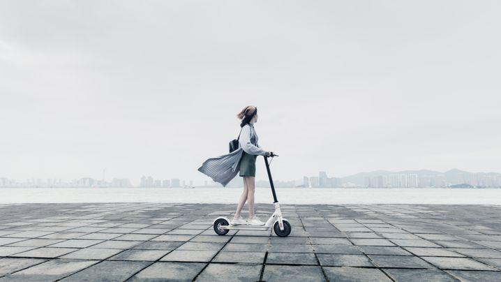 Mikromobilität: Treten war gestern
