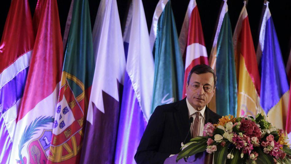 EZB-Präsident Draghi in China: Hoffen auf die Wende