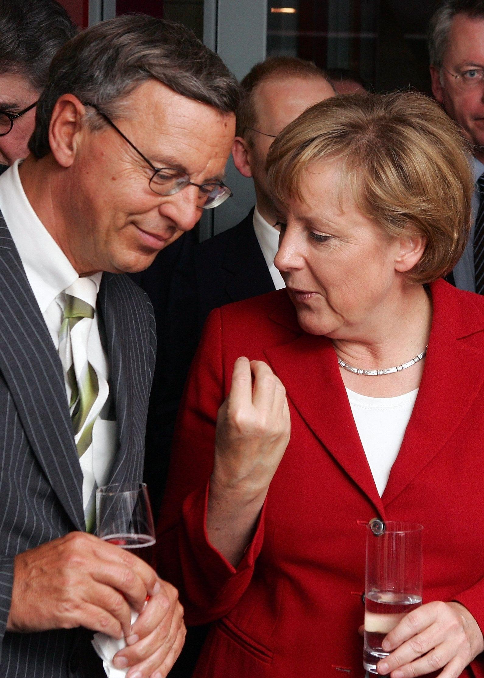 Wolfgang Bosbach / Merkel