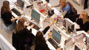 Großraumbüros lassen Mitarbeiter verstummen