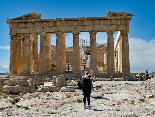 Der Parthenon in Athen: Griechenland will ab 15. Mai wieder Touristen ins Land lassen