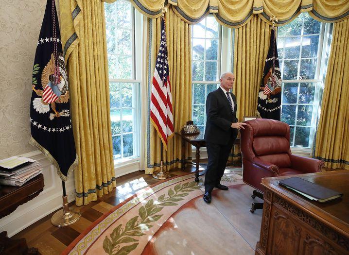 Stabschef John Kelly im Oval Office
