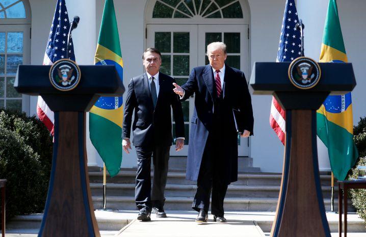 Jair Bolsonaro und Donald Trump