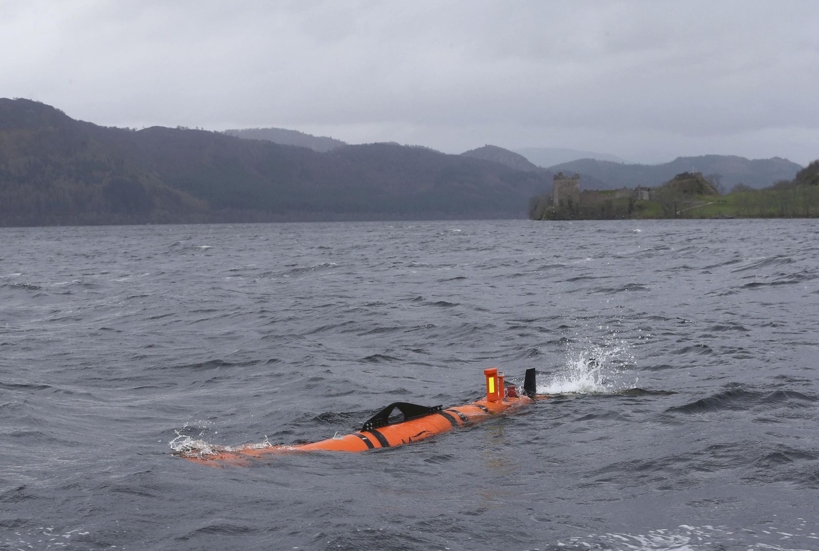 Scotland / Loch Ness / Munin