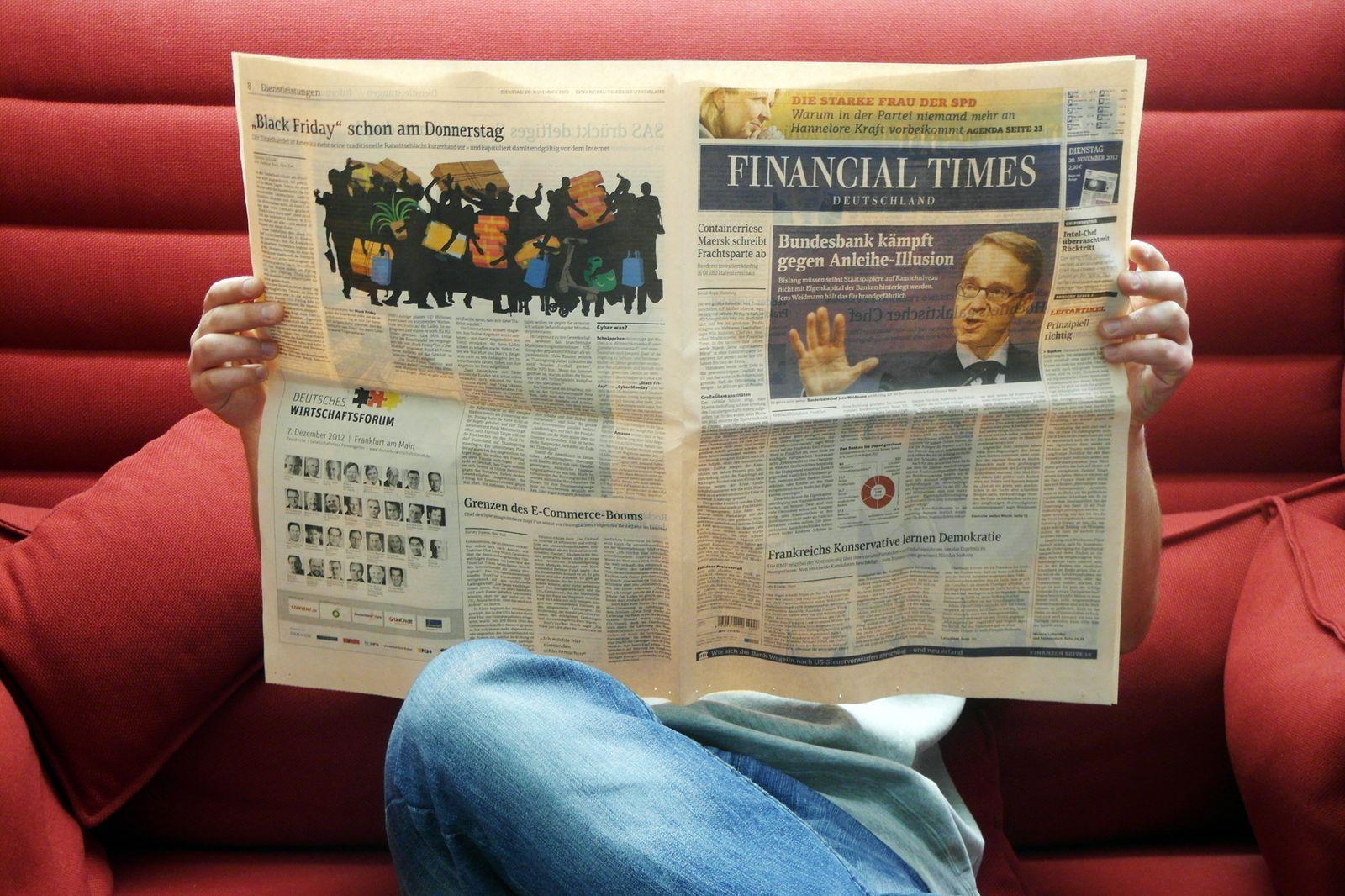 Financial Times Titel