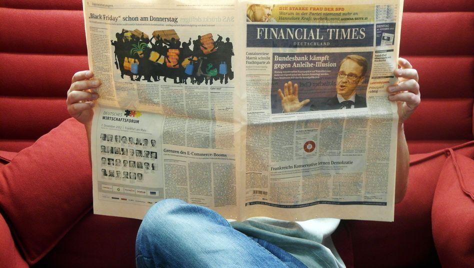 """""""Financial Times Deutschland"""": Zwölf Jahre lang Verlust gemacht"""