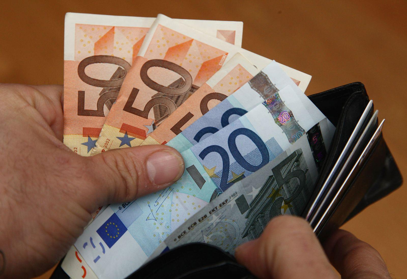Symbolbild Euro / Geld / Inflation
