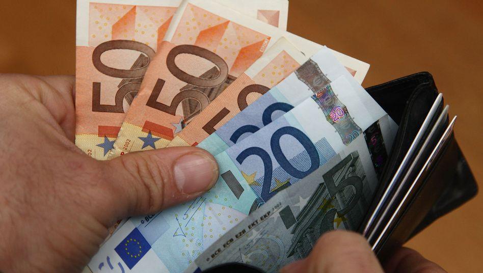 Geldscheine: Die Inflationserwartungen steigen
