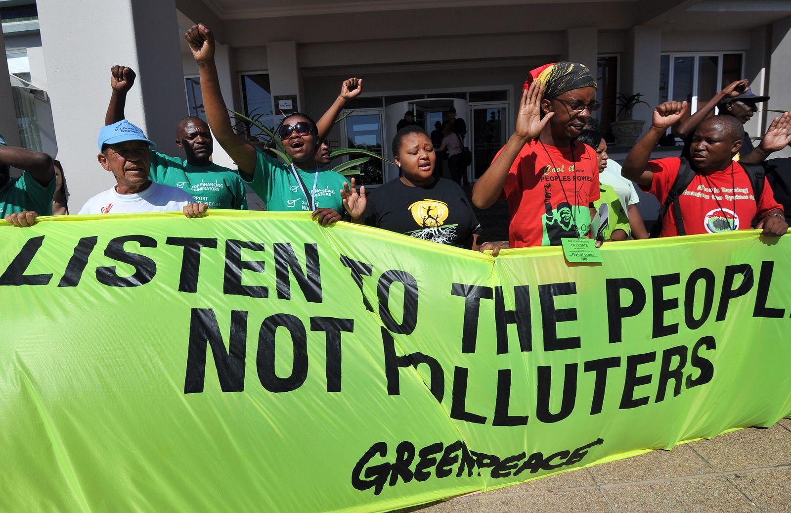 Durban/ Klimagipfel