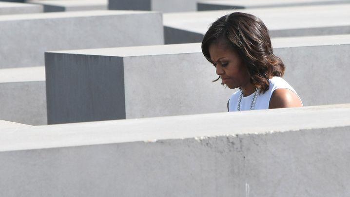 Obama-Besuch: Die First Lady in Berlin