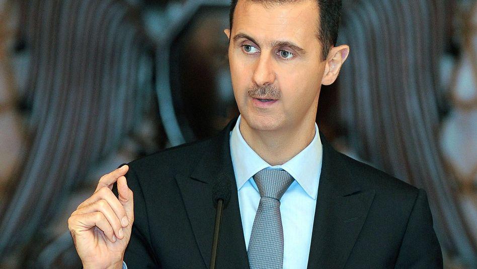 Syriens Präsident Assad: EU verschärft die Strafmaßnahmen gegen das Regime