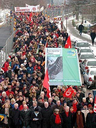 Demonstrationen in Kiel: Gegen eine NPD-Kundgebung in Kiel am Samstagnachmittag meldeten Gegner gleich zwei Protestveranstaltungen an