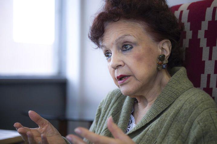 Psychologin Eva Giberti gründete eine Organisation für Frauen in Notsituationen