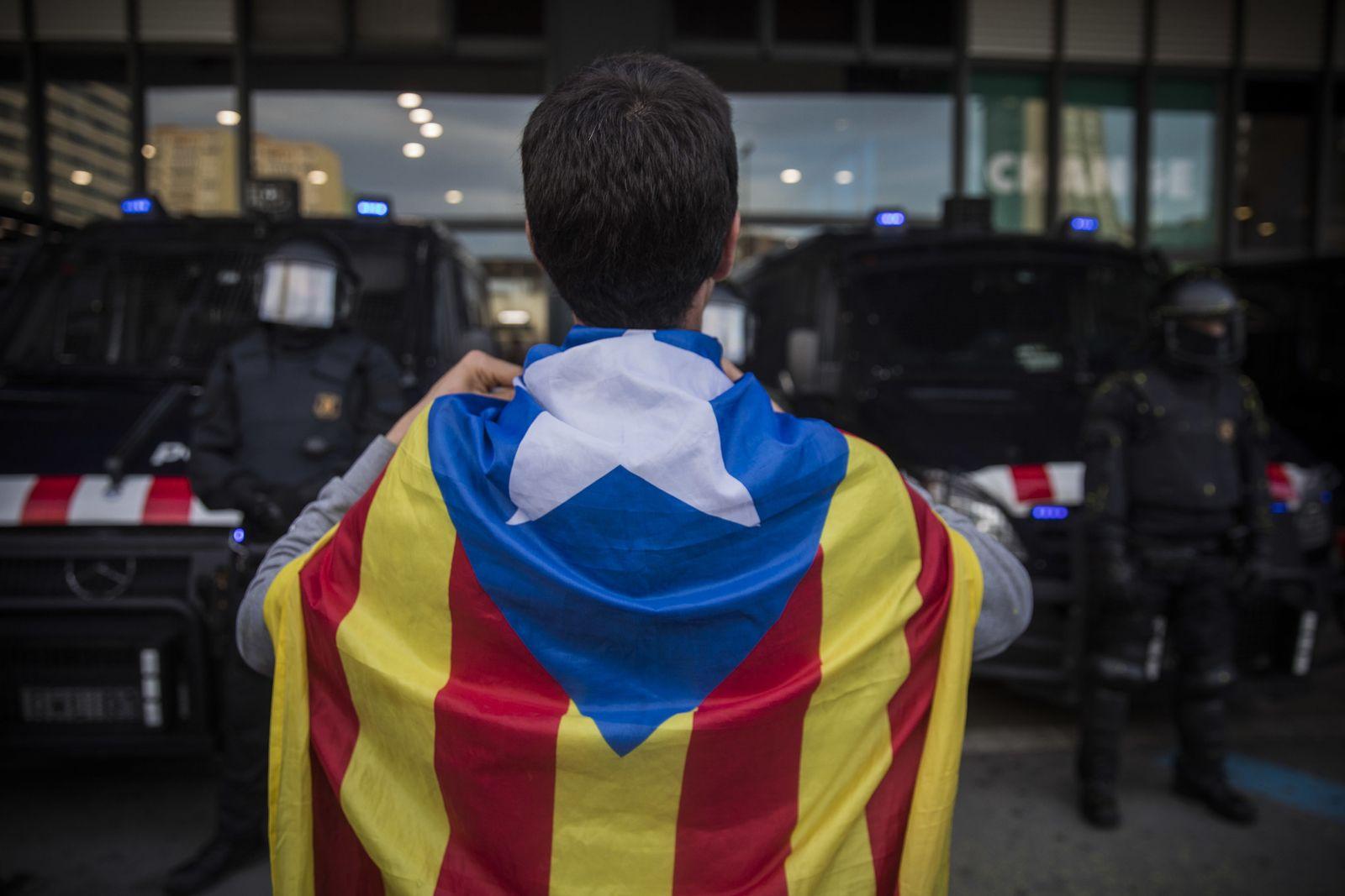 Katalonien Protest