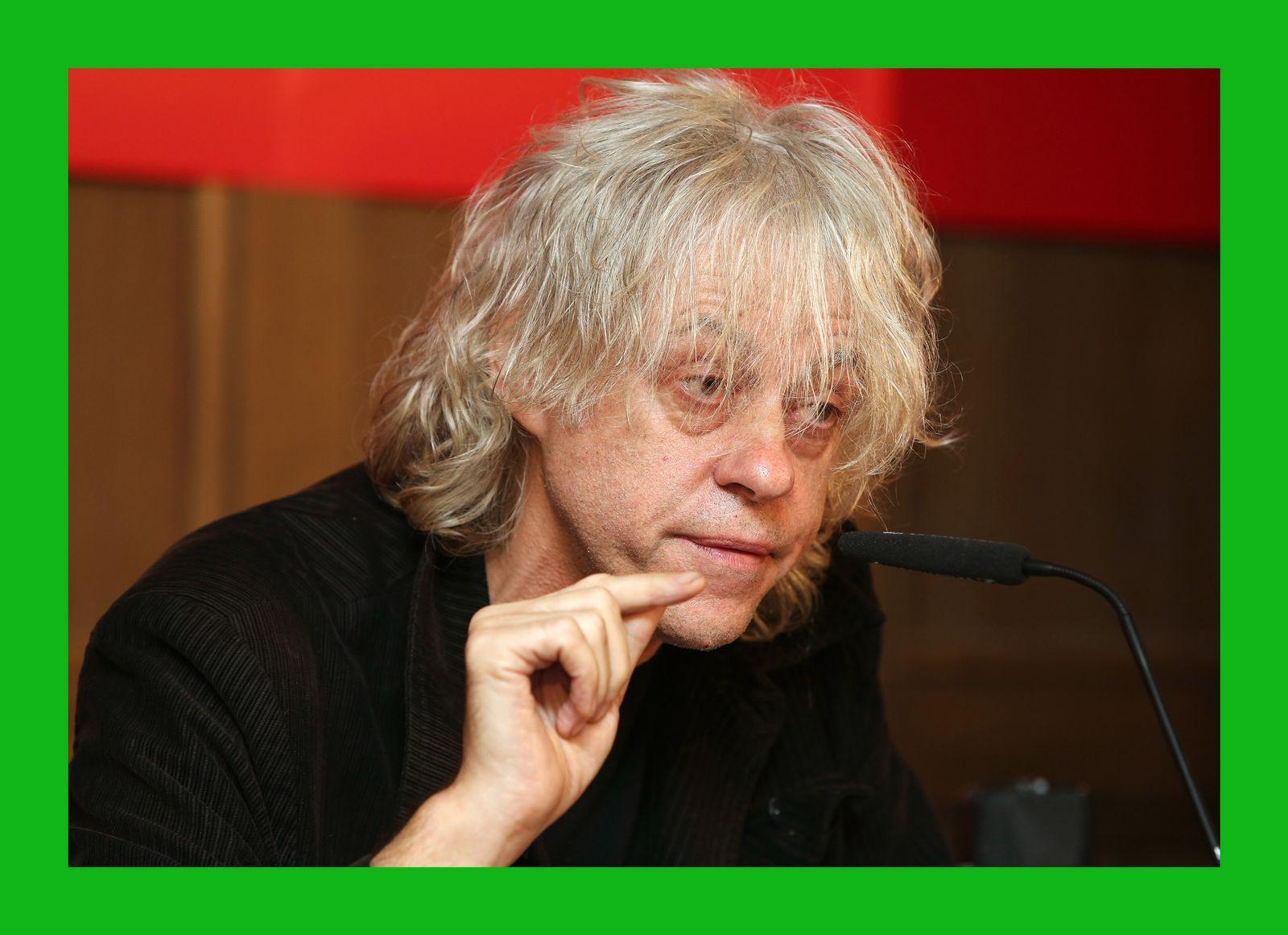 Bob Geldof/ Band Aid/ Ebola