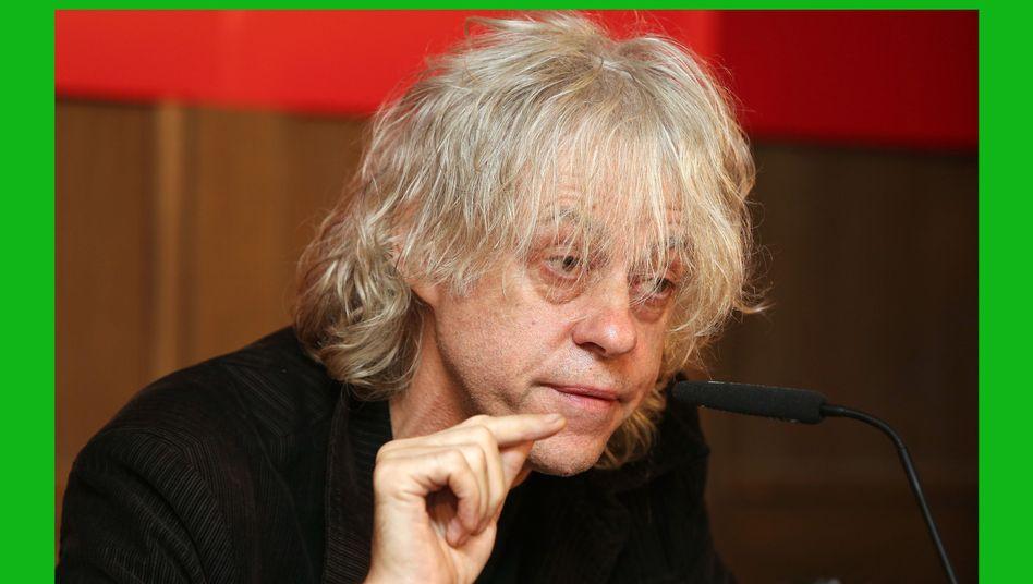 """Band Aid""-Präsentation: Sir Bob Geldof ist in Form"