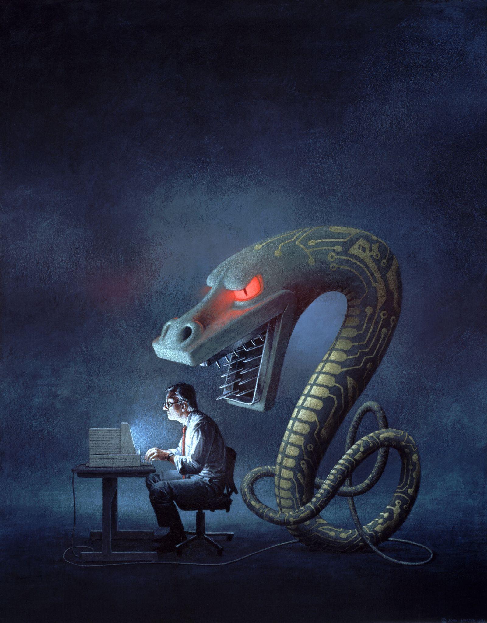 NICHT MEHR VERWENDEN! - Symbolbild / Computer Virus #1
