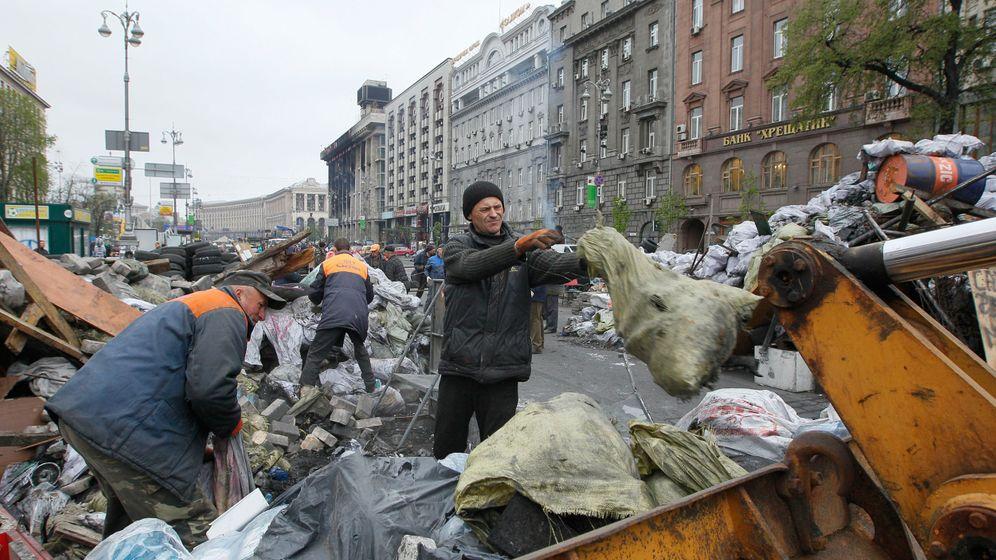 Intellektuelle in Kiew: Noch einmal an der Front