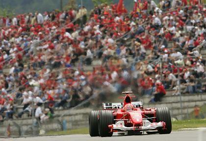 """Schumacher auf dem Nürburgring: """"Rotation ist notwendig"""""""