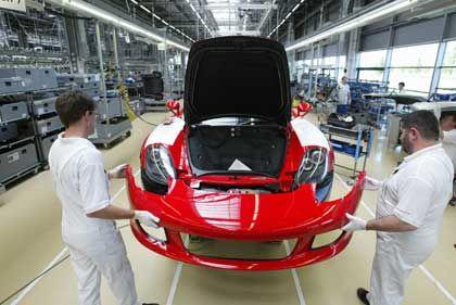 Porsche-Werk in Leipzig: Umsatz sinkt auf drei Milliarden Euro