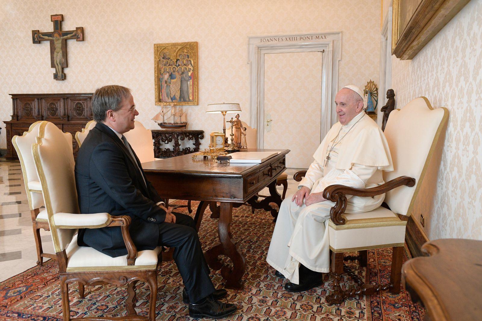 Armin Laschet meets Pope
