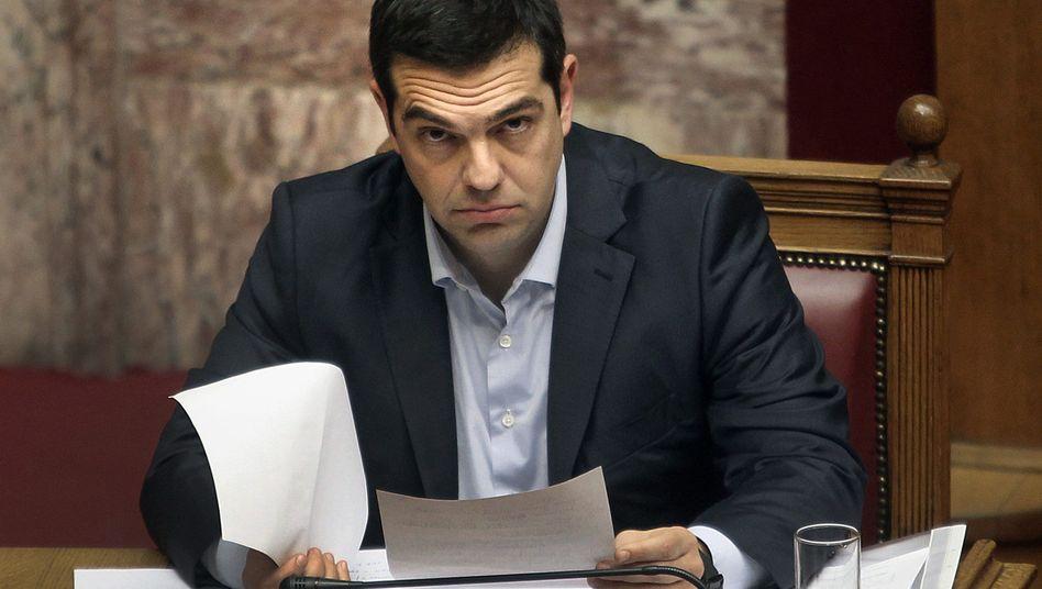 """Griechischer Premier Tsipras: """"Er wird mehr und mehr verantwortlich"""""""