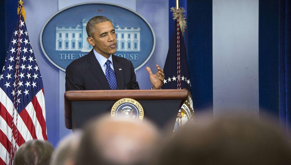 """US-Präsident Obama: """"Wir sammeln Informationen über mögliche Ziele"""""""