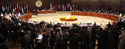 Eröffnung des Arabischen Gipfels in Damaskus: Kollegen strafen Assad ab