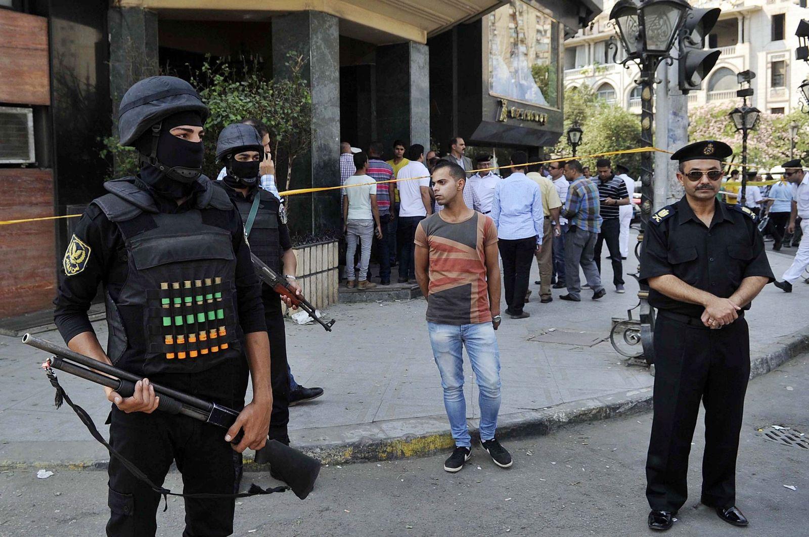 Sicherheitskräfte Ägypten