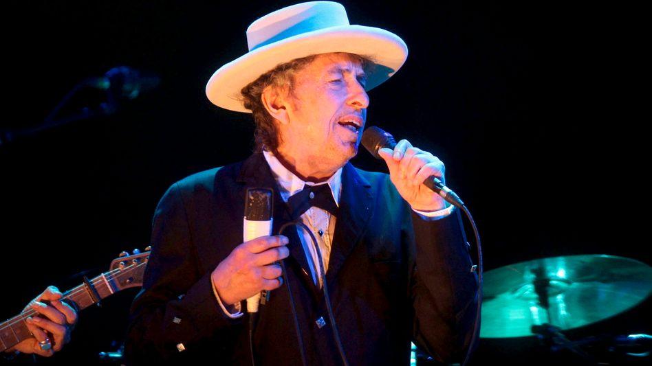 Dylan bei einem Konzert in Spanien (Archiv)