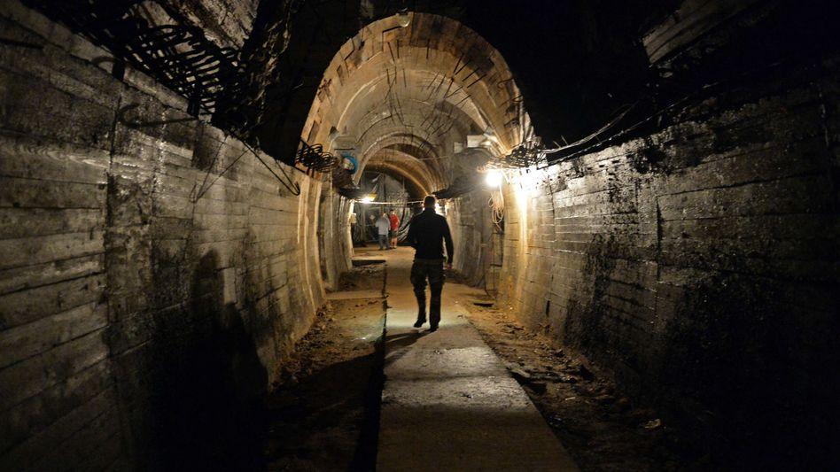 Tunnel unterhalb der Gegend um Walbrzych: Ist hier irgendwo der Nazi-Zug?