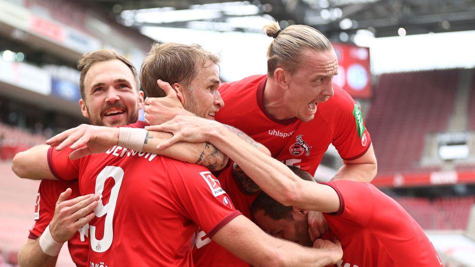 Obenauf: Der 1. FC Köln sicherte sich zwei Endspiele