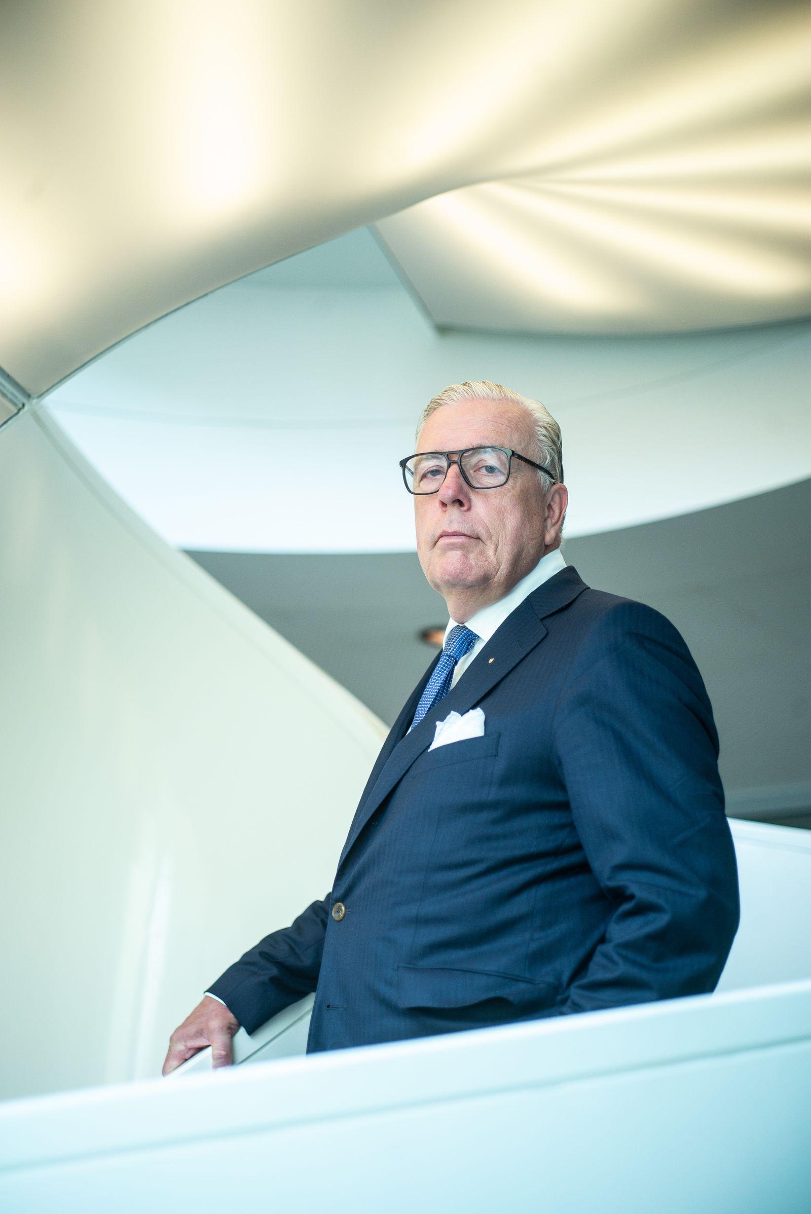 Dr. Klaus Reinhardt / Präsident der Bundesärztekammer.