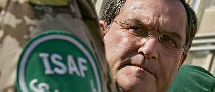 Is German Defense Minister Franz-Josef Jung looking for a way out of Afghanistan?