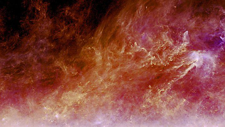 """""""Planck""""-Bilder: Kosmos-Staub und Urknall-Echo"""