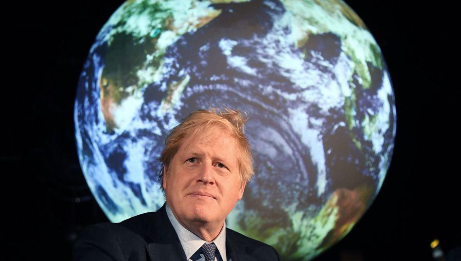 Boris Johnson: Streit über die britische Klimapolitik