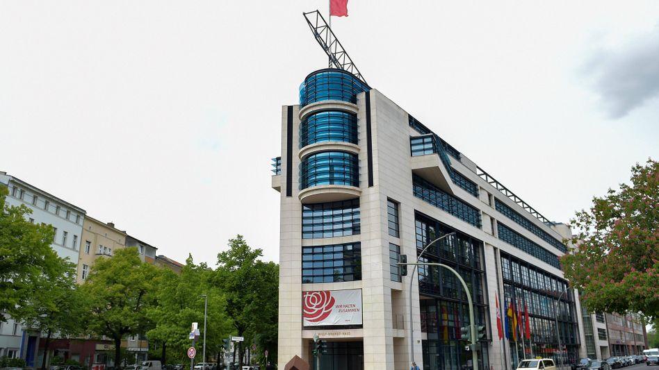 SPD-Zentrale in Berlin: Weniger Geld für Wahlkampf