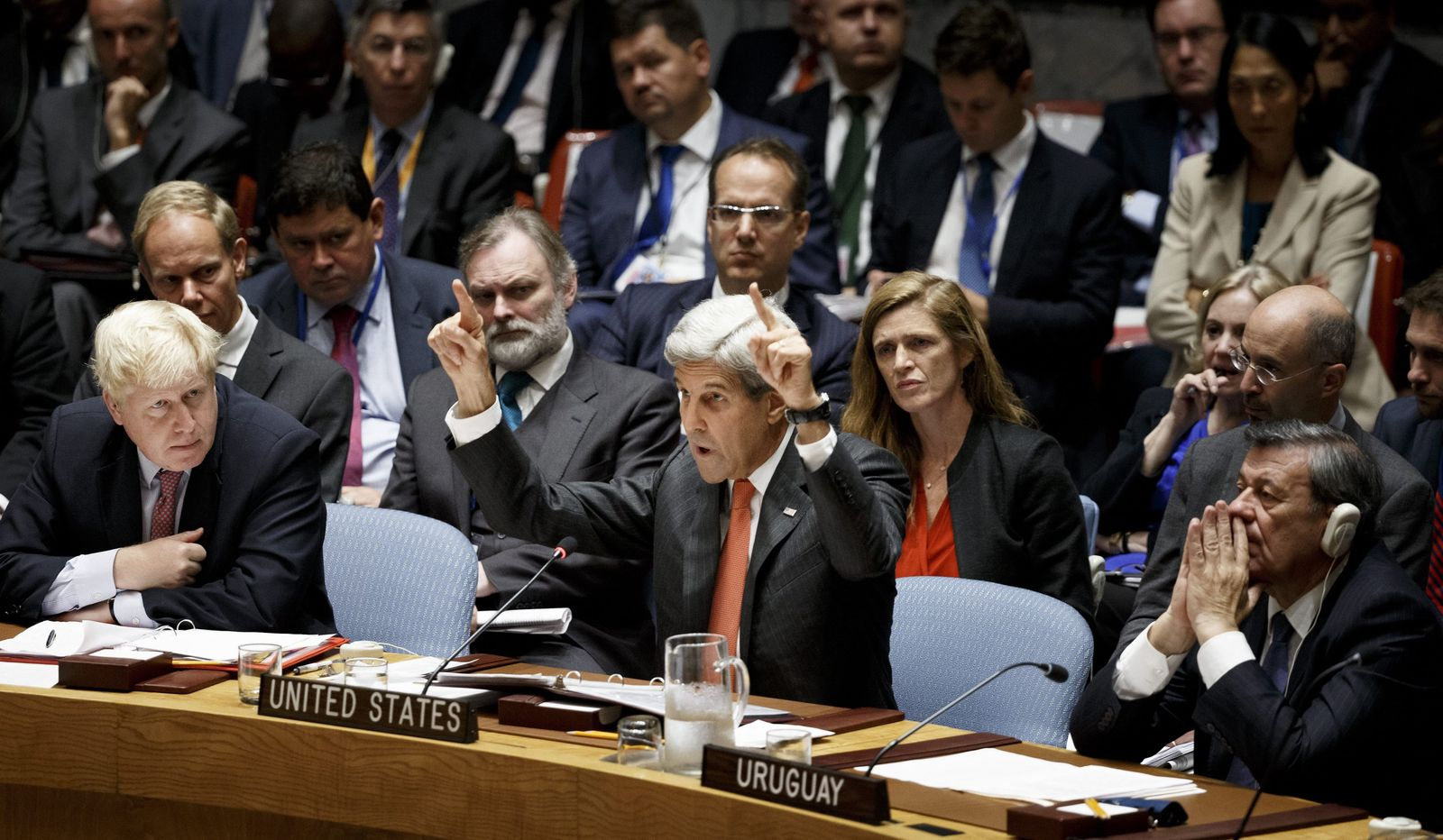 Security Council Meeting During General Debate of the 71st Sessio